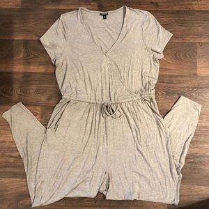 Torrid Short Sleeve Jumpsuit